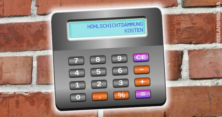 Hohlschichtdämmung: Kosten kalkulieren