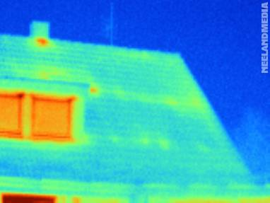 Thermografie: Dach